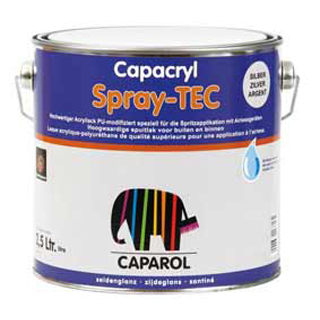 Capacryl mix Spray-TEC ca. RAL 9007