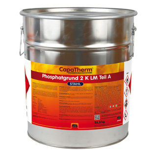 CapaTherm Stahl  Phosphatgrund 2K LM - Stammkomponente A