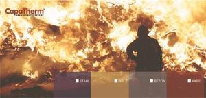 2          Dämmschichtbildender CapaTherm Stahlbrandschutz