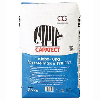 Capatect Klebe- und Spachtelmasse 190