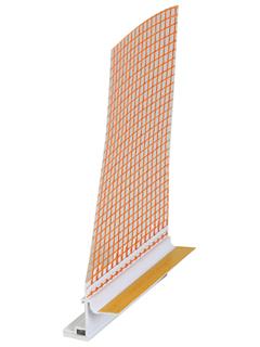 Capatect Fensteranschlussprofil Aluschale 18 mm