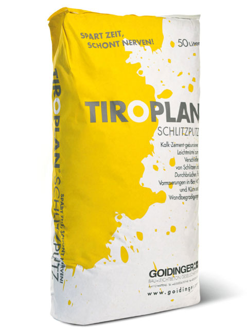 TIROPLAN-SCHLITZPUTZ