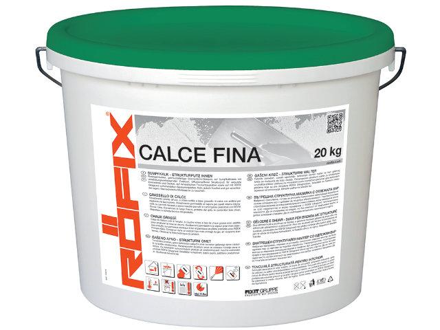 RÖFIX Calce Fina Sumpfkalk- Strukturputz Innen