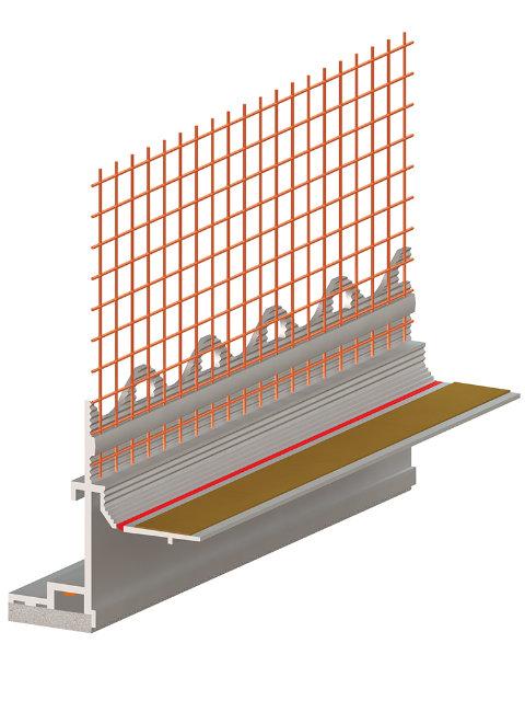 Produktbild RÖFIX Fensteranschlussprofil 3D