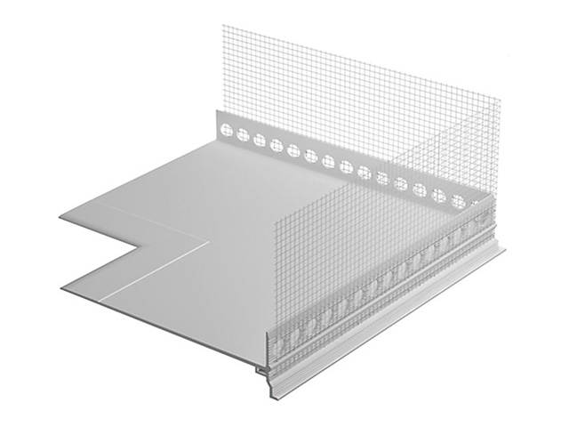 RÖFIX Sockeleinschubprofil Innenecke/Außenecke