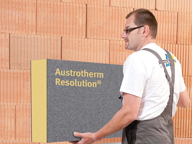 Austrotherm Resolution® Fassade