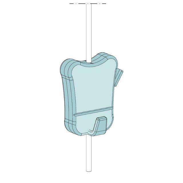 Zipper für Perlonseil 92122