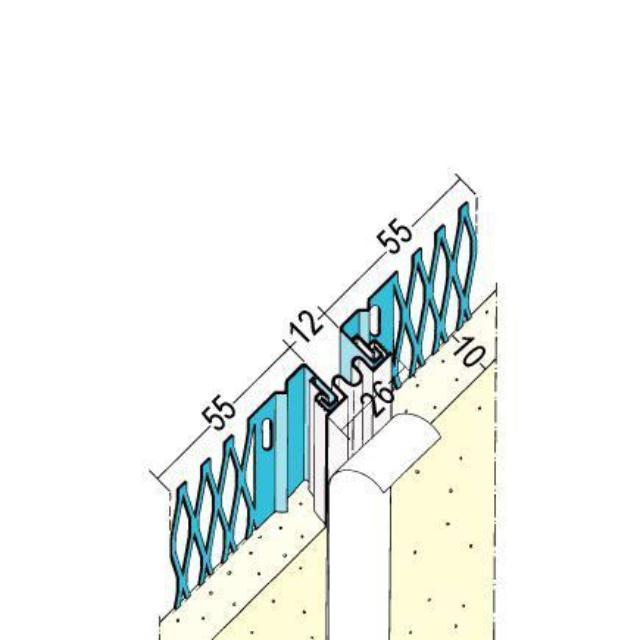 Dehnungsfugenprofil für den Innen- und Außenputz 7521