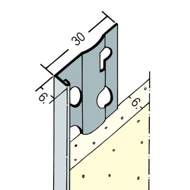 Abschlussprofil für den Innen- und Außenputz 9123