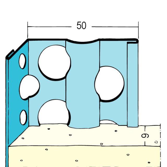 Kantenprofil für den Innenputz 1051