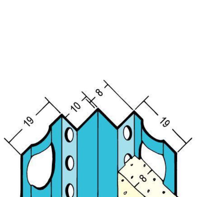 Inneneckprofil für den Innenputz 1004