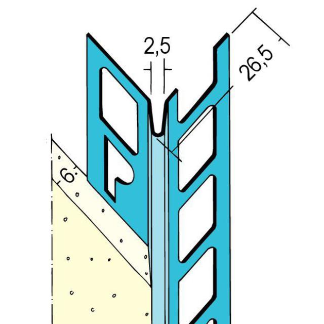 Kantenprofil für den Innenputz 1084