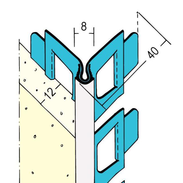 Kantenprofil Innen- und Außenputz 1041
