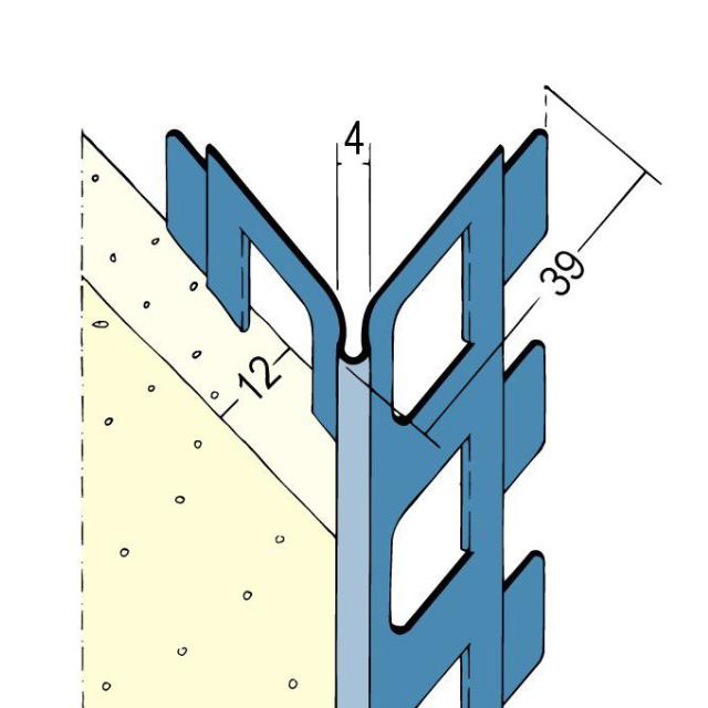Kantenprofil für den Innen- und Außenputz 2212