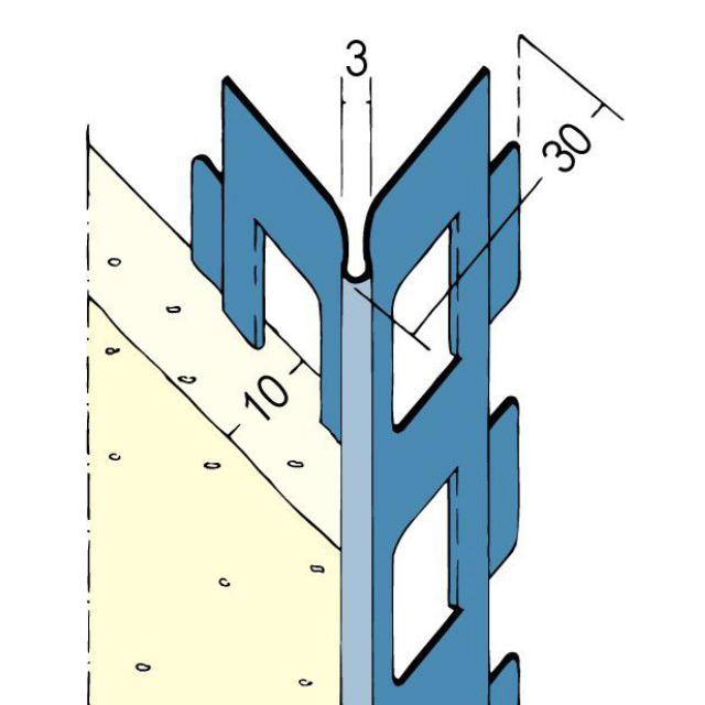 Kantenprofil für den Innen- und Außenputz 2218