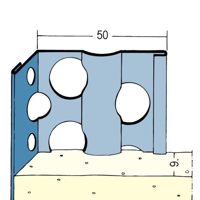 Kantenprofil für den Innen- und Außenputz 2251