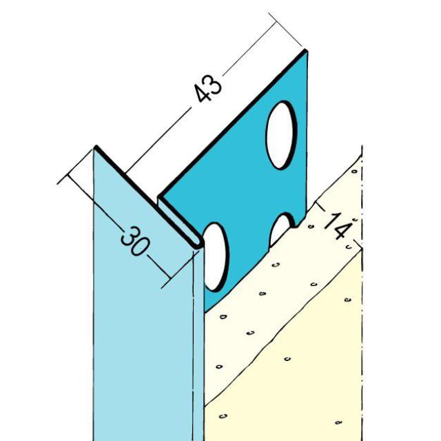 An- und Abschlussprofil für den Innenputz 1321