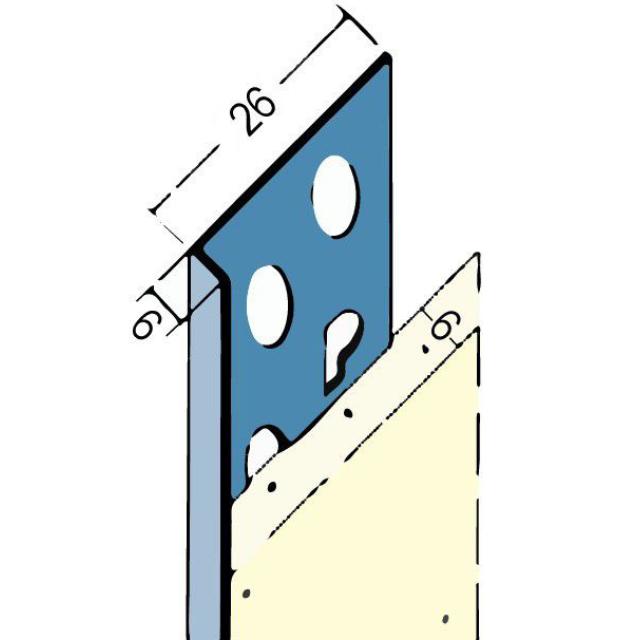 Abschlussprofil für den Innen- und Außenputz 2135