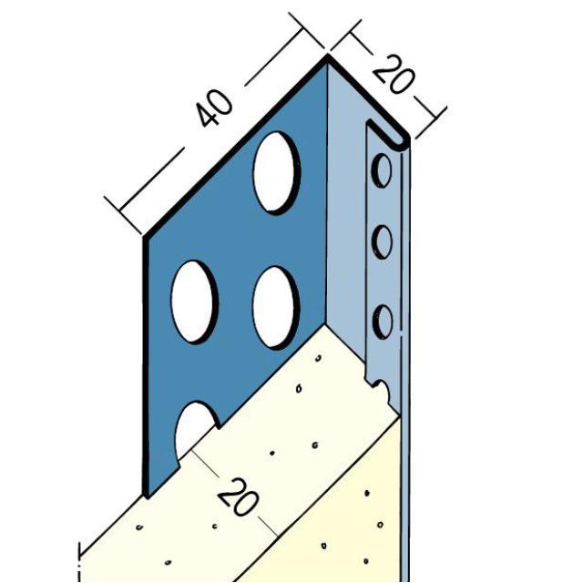 Abschlussprofil für den Innen- und Außenputz 2233