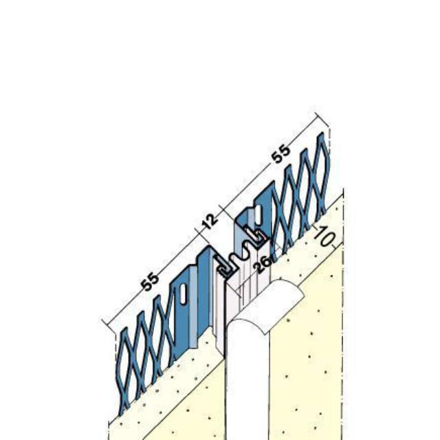 Dehnungsfugenprofil für den Innen- und Außenputz 7571