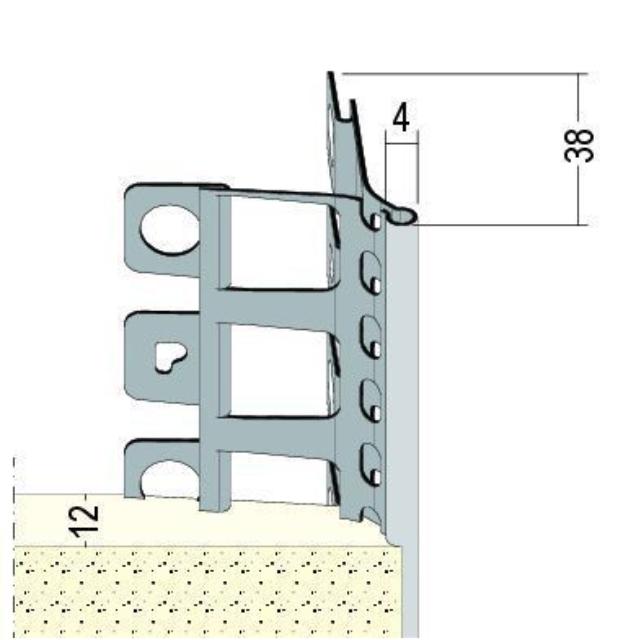 Kantenprofil für den Innen- und Außenputz 9113