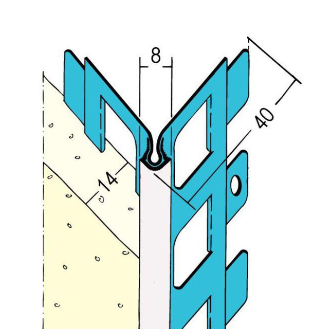 Kantenprofil für den Außenputz 1013
