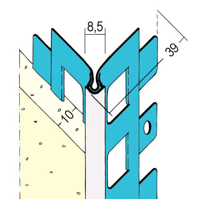 Kantenprofile für den Außenputz 1020