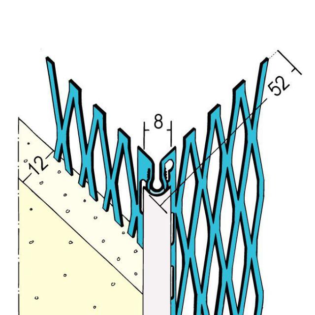 Kantenprofil für den Außenputz 1086