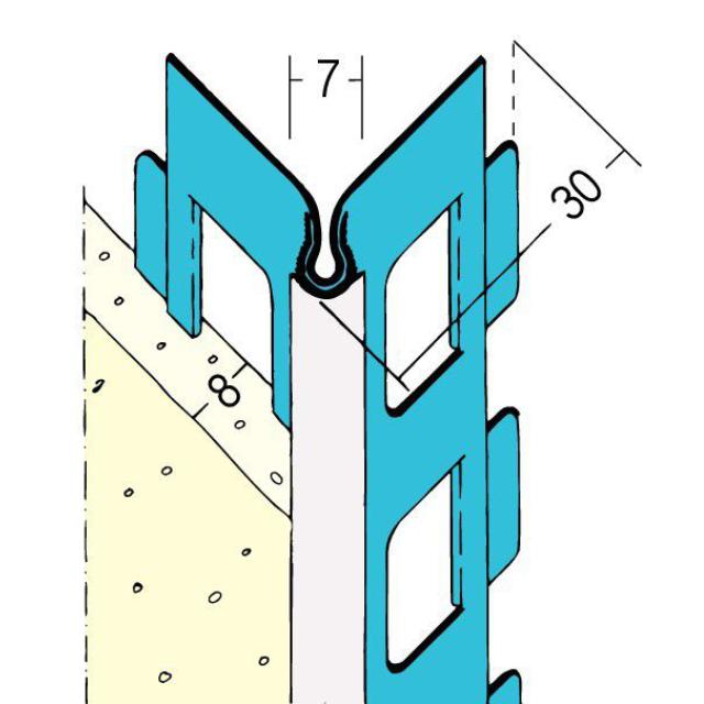 Kantenprofil für den Außenputz 1023