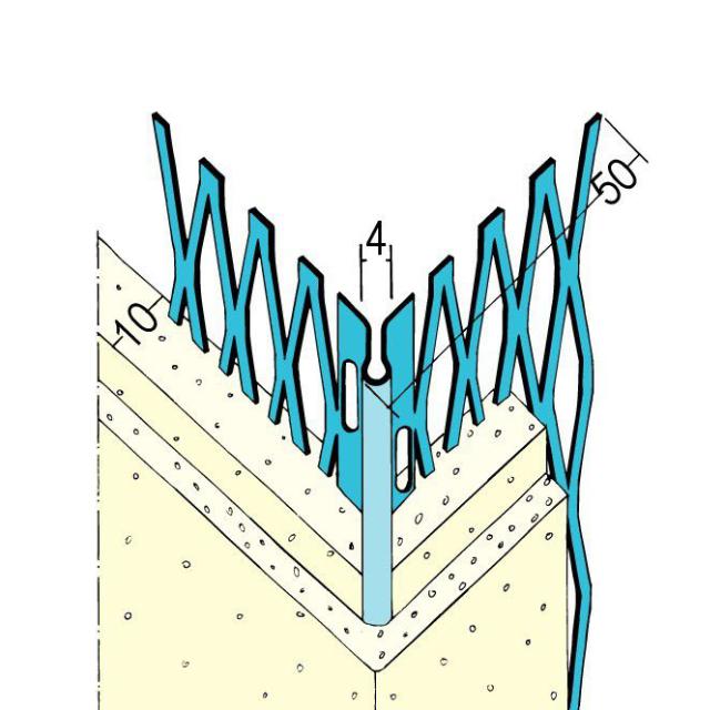 Kantenprofil für den Innen- und Außenputz 1085 Z