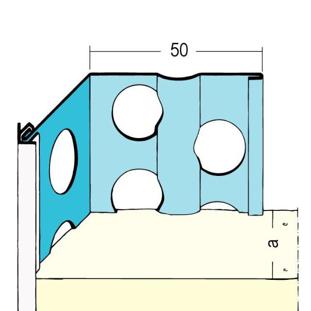 Kantenprofil für den Außenputz 1061/1080/1062
