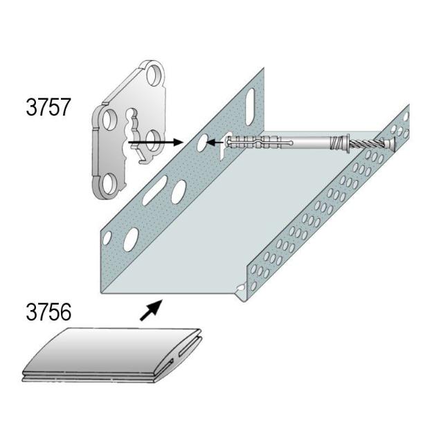 Montageset für WDV-Systeme 3757