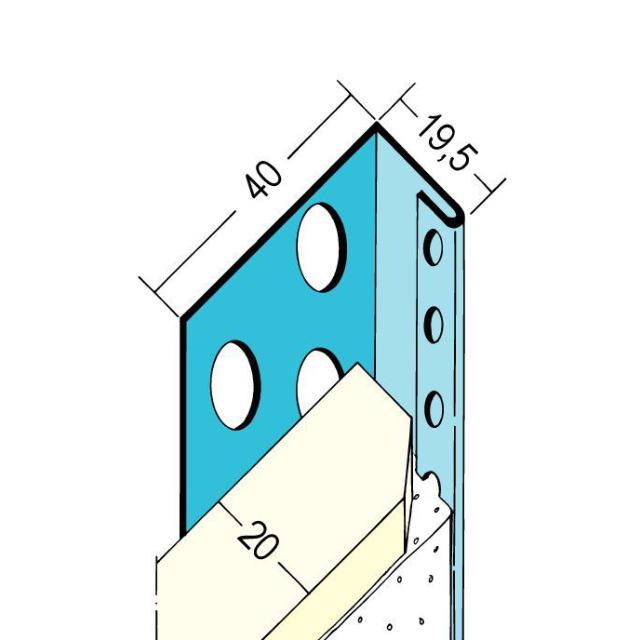 Abschlussprofil für den Trockenbau 1133