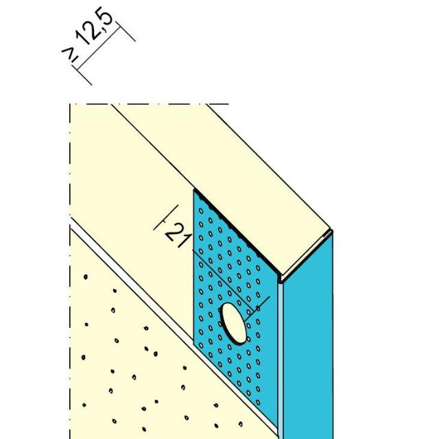 Kantenprofil für den Trockenbau 1234