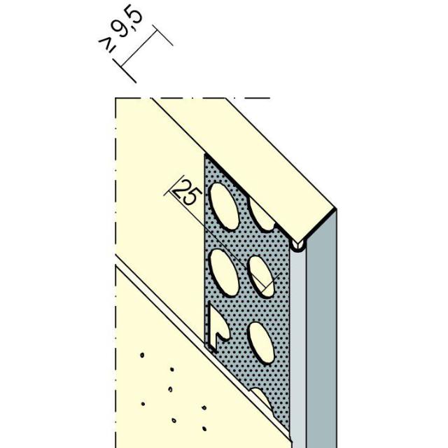 Abschlussprofil für den Trockenbau 9298