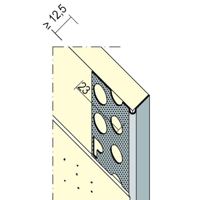 Abschlussprofil für den Trockenbau 9299