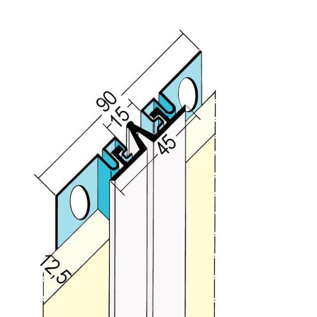 Dehnungsfugenprofil für den Trockenbau 3226