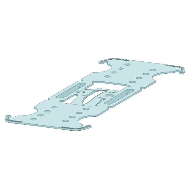 Kreuzschnellverbinder flach 6100