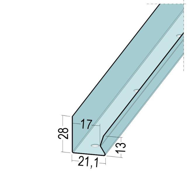 TPS U-Wandanschlussprofil 5313