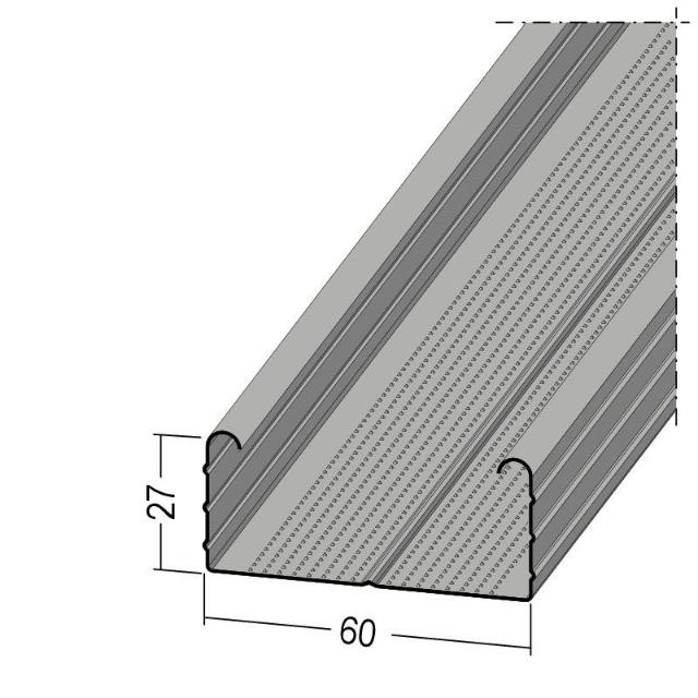 C-Deckenprofil runder Umbug C4 sehr hoch C5 hoch