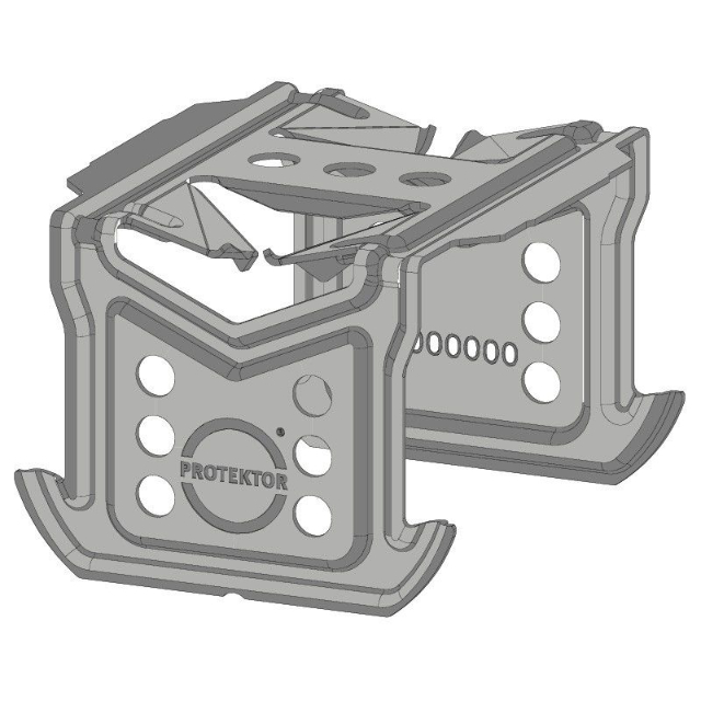 Kreuzschnellverbinder C3-C5 hoch