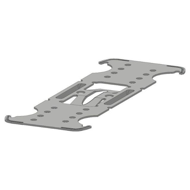 Kreuzschnellverbinder flach C3-C5 hoch