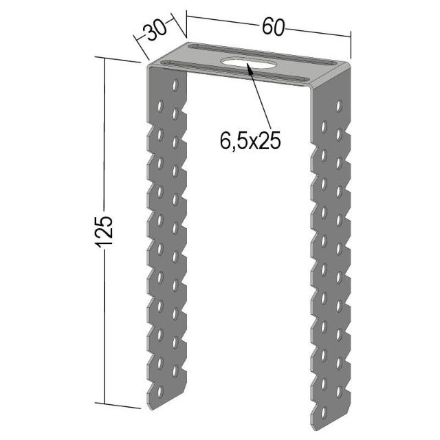 Direktabhänger für CD 60-27 C3-C5 hoch