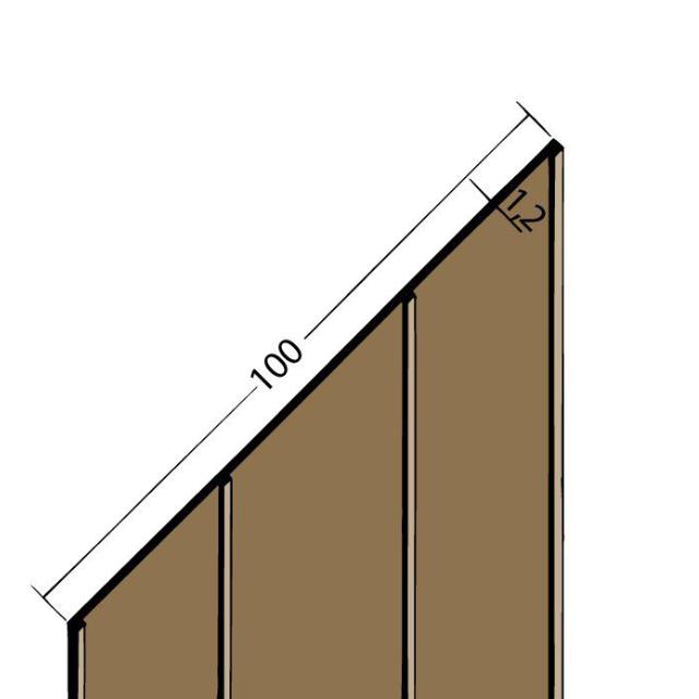 Fugenband mit Dichtlippe PVC 3334