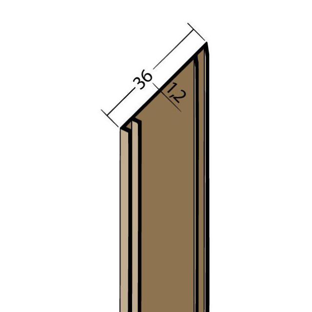 Fugenband mit Dichtlippe PVC 3331