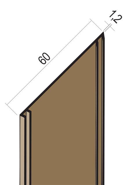 Fugenband mit Dichtlippe PVC 3327