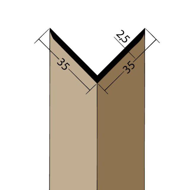 Winkelprofil PVC 3519
