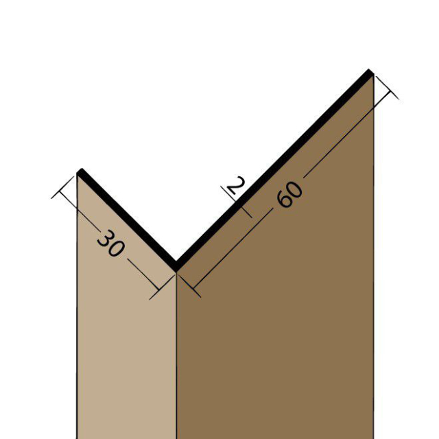 Winkelprofil PVC 3525