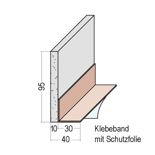 Bewegungsfugenprofil PVC 3929