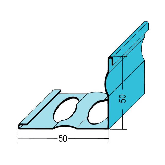 Randabschlussprofil Estrich Stahl verzinkt 1275